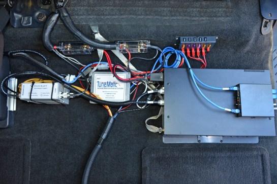 Power Distribution, Antenna Controller And Wattmeter Sensors
