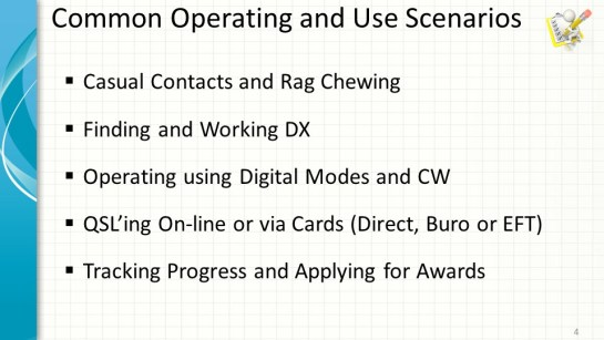 DXLab Use Scenarios