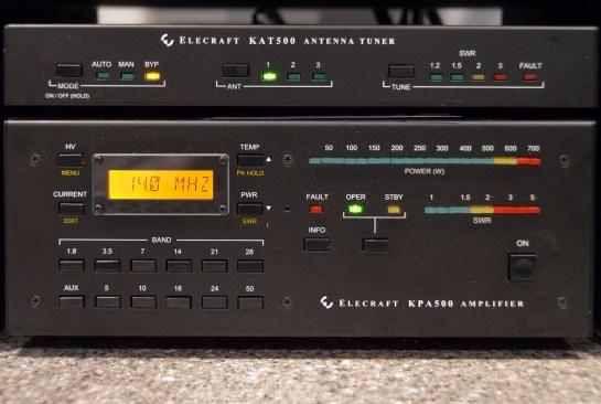 Elecraft KPA500 Amplifier and KAT500 Auto Tuner
