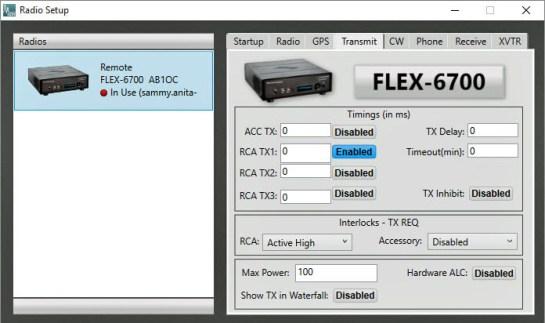 SmartSDR Setup - Tx Keying And Interlock
