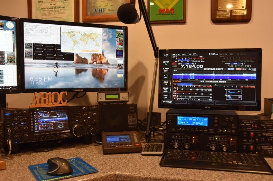 Icom IC-7851 With Display Monitor