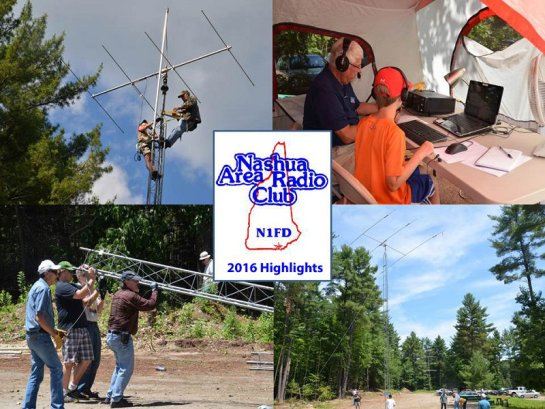Nashua Area Radio Club - 2016 Year In Review