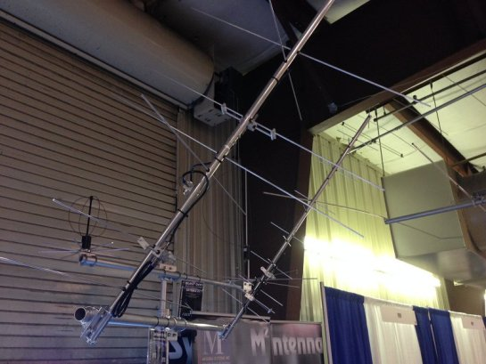 M2 Antenna Systems LEO Pack On Display at Dayton 2016