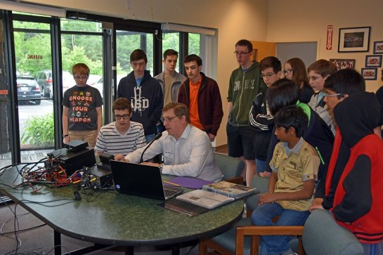 Explaining Amateur Radio to ASD Students