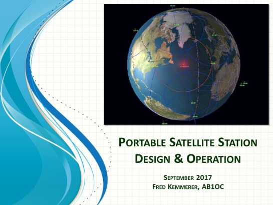 Building and Operating a Portable Satellite Station Presentation