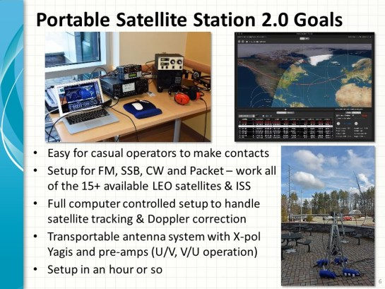 Portable Satellite Station 2.0 Goals
