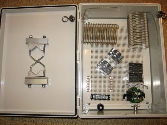Layout of Components in Enclosure