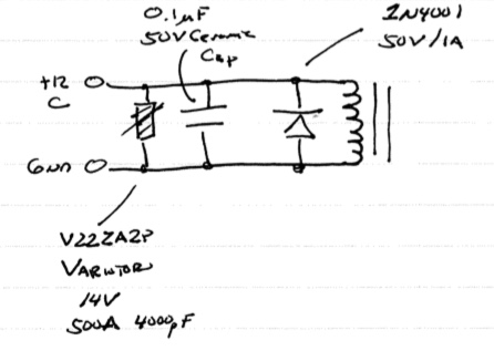 Relay Control Circuit Details