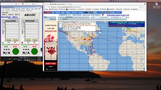 DXMaps Propagation Report on 6m