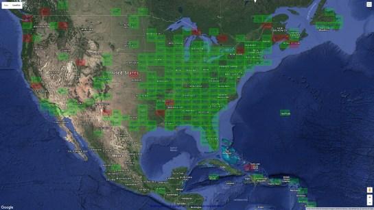 AB1OC Americas 6m Grids