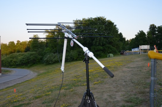 Portable Satellite Antenna System