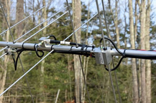 2m Yagi Switchable Polarity Feedpoint