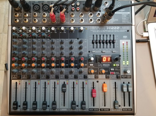 Sound System Mixer