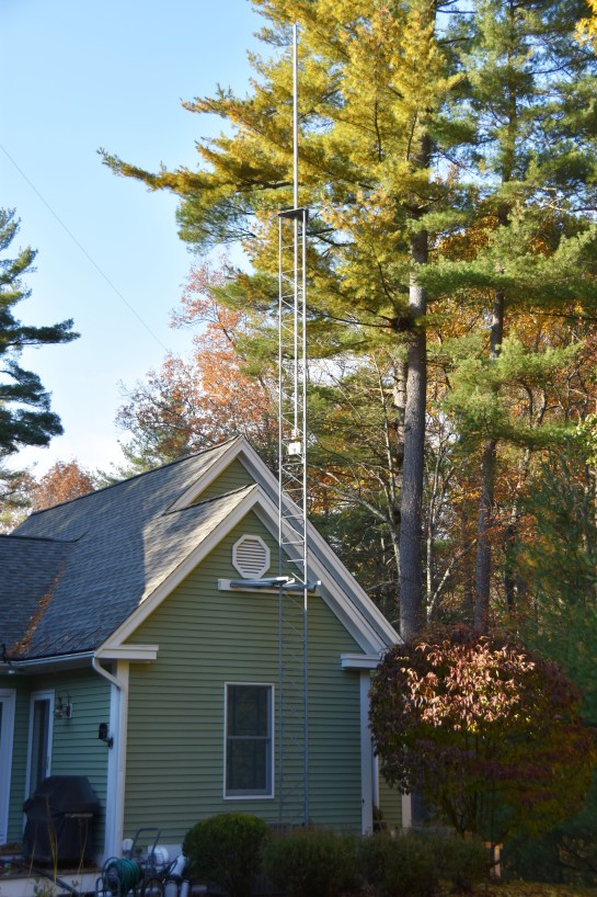 New Satellite and 6m Tower