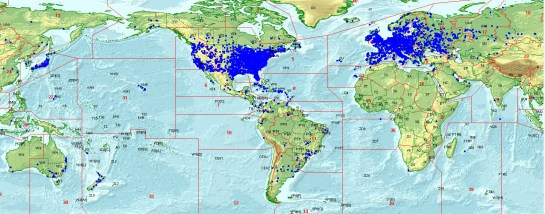 K2K QSOs Around The World