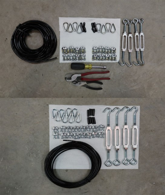 Truss Cable Parts Prep