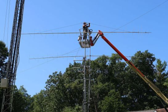 Upper Antenna Installation
