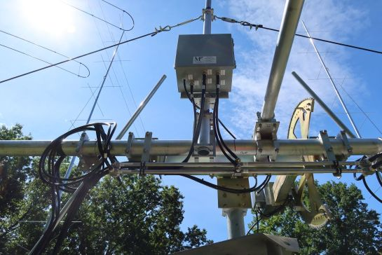 Phasing Lines, Power Dividers, and Feedline Connections on Crossboom