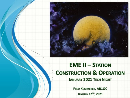 EME II - Station Construction and Operation