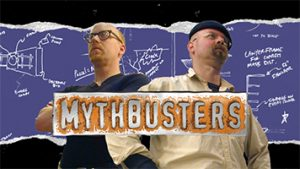 Mythbusters TV show title screen