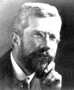 Photograph of Ronald Fisher.