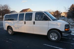 Photograph of the van I drove.