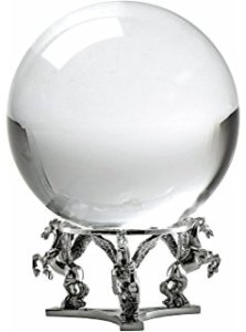 Image of crystal ball to represent using regression to make predictions.