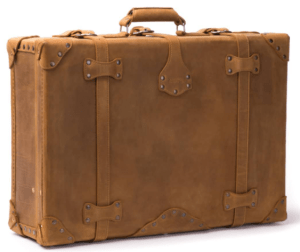 Photograph of a suitcase for the example of the multiplication rule for probabilities.