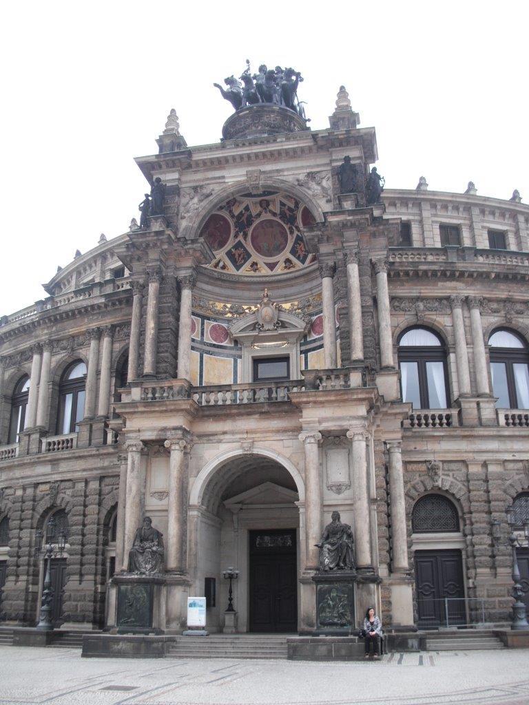 Beliebteste Sehenswürdigkeiten Dresdens 2013 nach Google-Suchanfragen