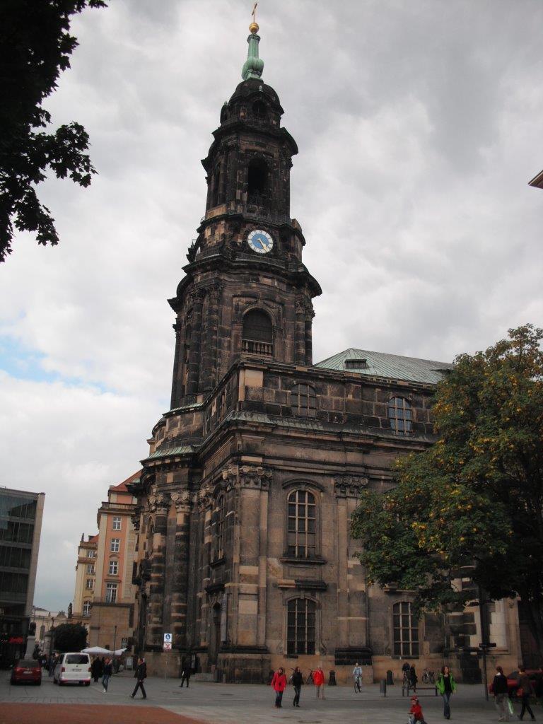 Kreuzkirche in Zahlen