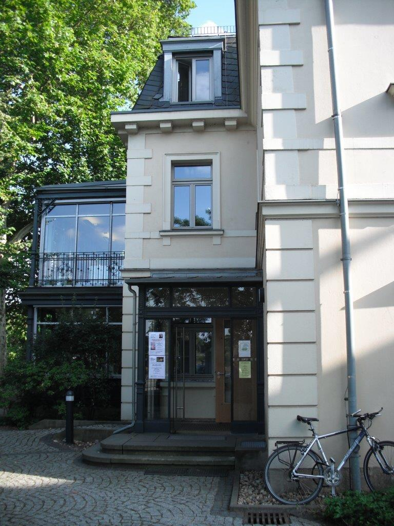 Villa Augustin, Dresden, beherbergt das Erich Kästner Museum