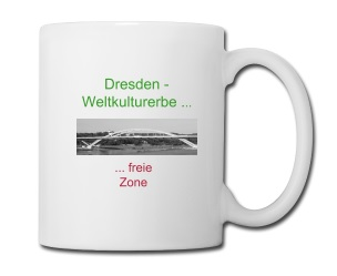Waldschlösschenbrücke, Weltkulturerbe, Dresden, Unesco