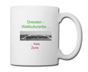 Waldschlösschenbrücke, Weltkulturerbe ... freie Zone, Dresden, Unesco