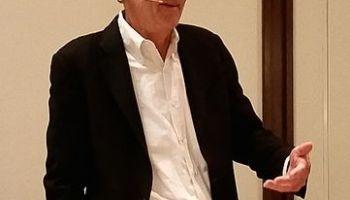 Edward Tufte bei einer Präsentation in Dallas 2015