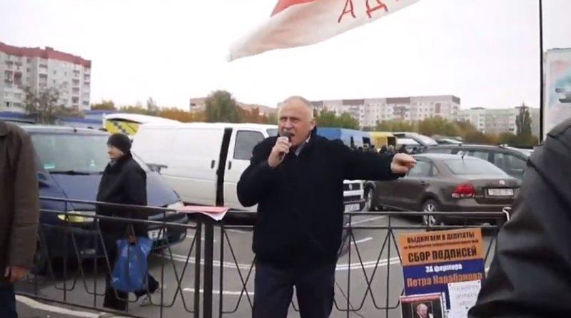 Николай Статкевич о льготах для чернобыльцев
