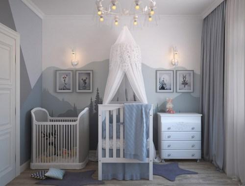 Cameretta per bambini e bambine. Come dipingere le pareti grazie ad un imbianchino