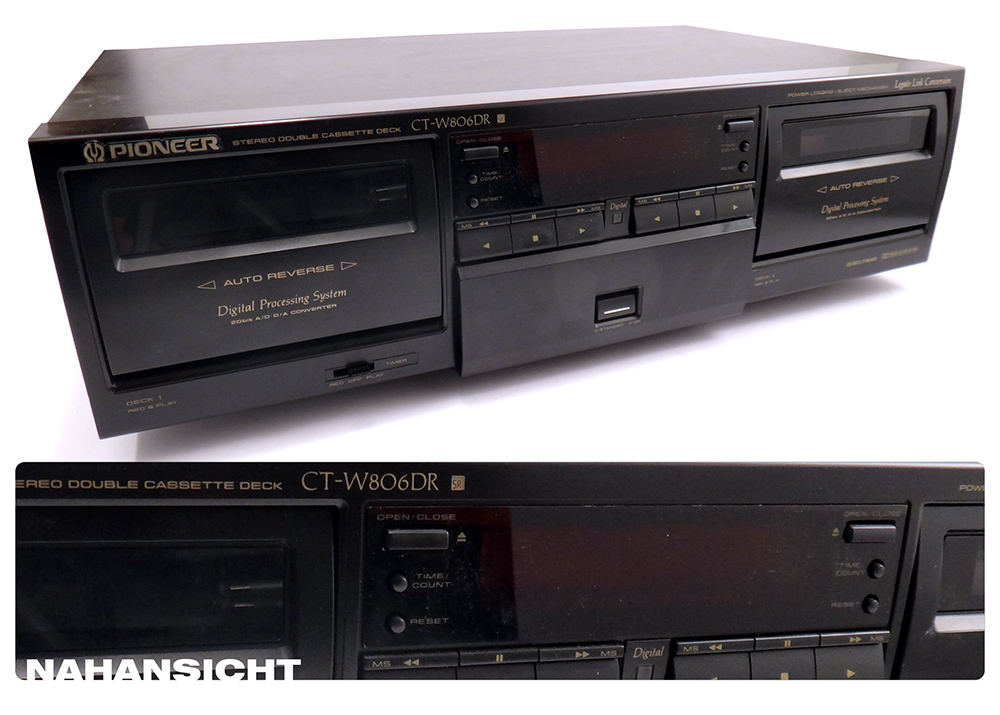 Pioneer CT-W806DR