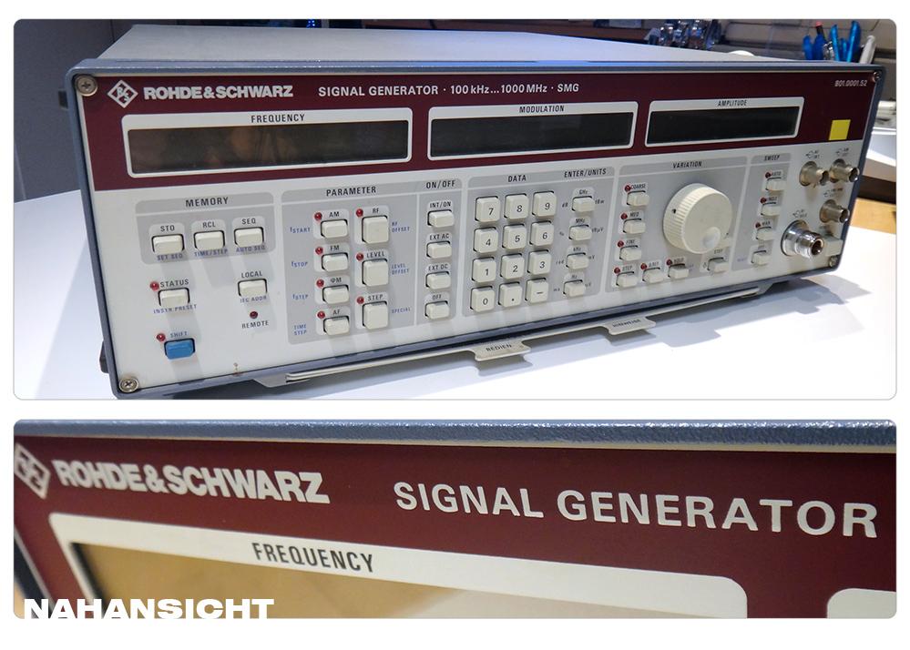 Rohde-Schwarz Signalgenerator