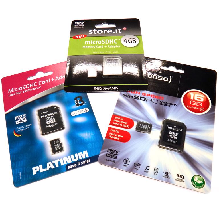 Micro SD Karten