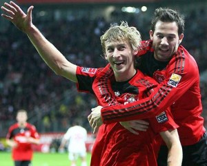 Leverkusen were great with these two this season. Image from Sport1.de