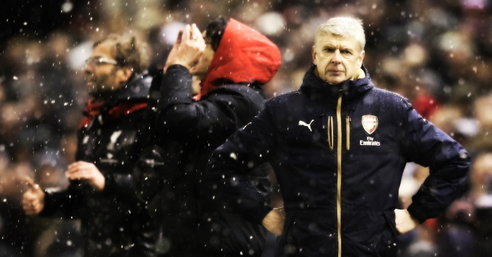 wenger frsutrated
