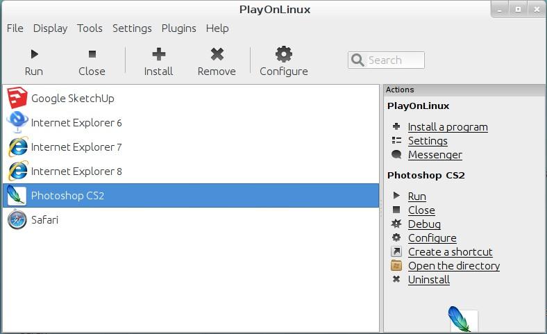 Install Photoshop CS2 easily on Ubuntu Linux | Status 301