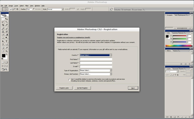 Adobe photoshop cs2 version 9.0 serial number free