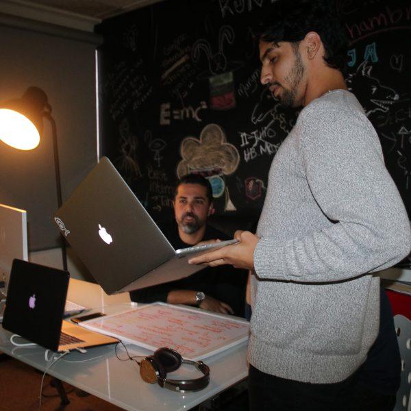 Jualfredo Pérez y Javier Selzo Rivera
