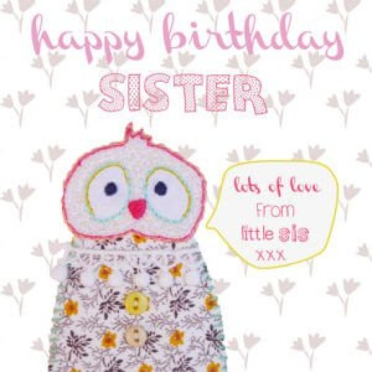 Happy Birthday sister whatsapp dp status
