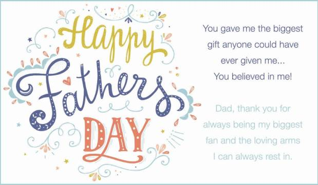Fathers Day 2018 Ecards, Songs list