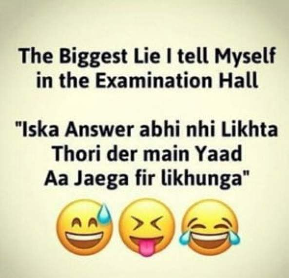 Exam Time Fb Pics