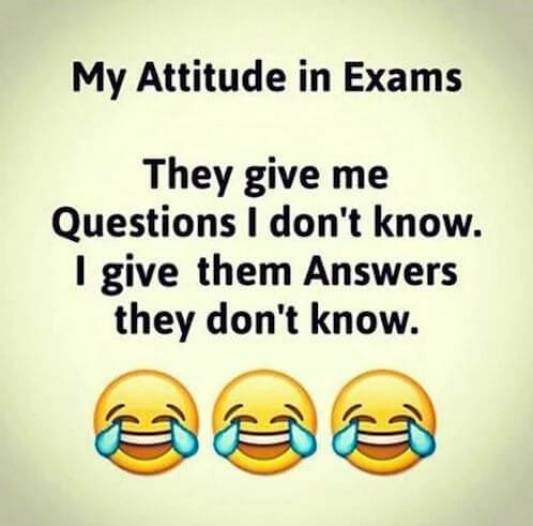 Exam Time Whatsapp Pics