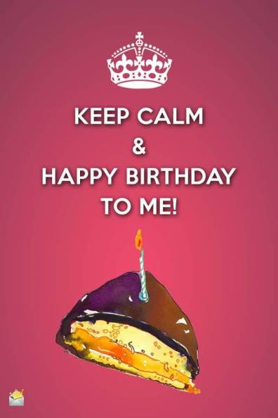 Happy Birthday To Me Whatsapp Status & Pics