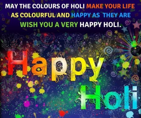 Advance Holi 2019 Images